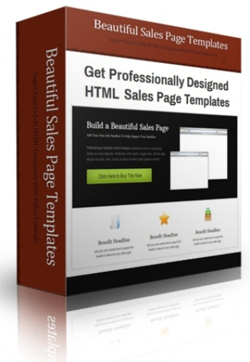 Pay for Beautiful Sales Page Templates