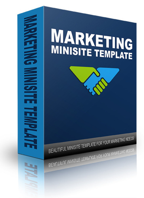 Pay for New Marketing Minisite Template 2014