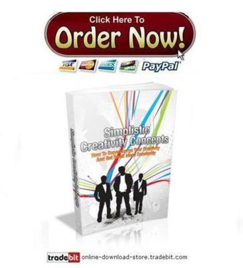 Pay for Simplistic Creativity Concepts