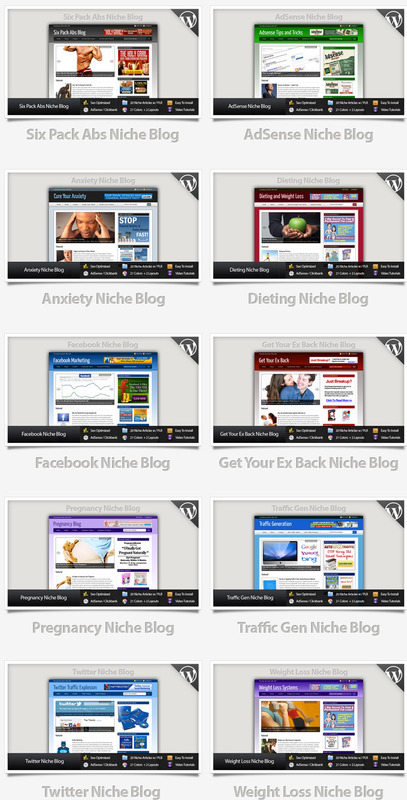 Pay for 10 Niche Blogs