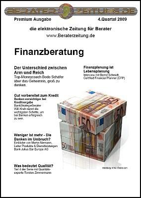 Pay for Finanzberatung - Beraterzeitung Premium Ausgabe Q4.2009