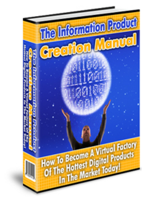 Pay for The Information Product Creation manual