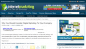 Thumbnail Wordpress Internet Marketing Niche Blog