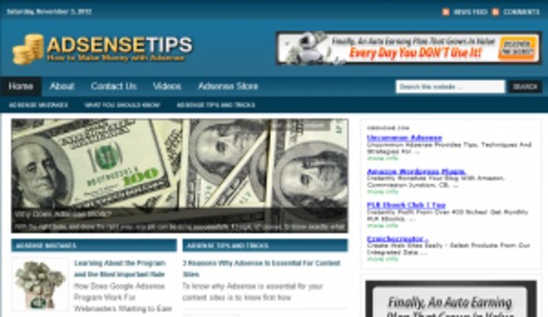 Pay for Wordpess Adsense Niche Blog