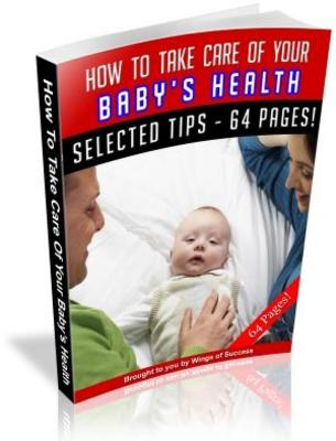 Pay for How to Take Care of Your Baby Health Free PLR ebook download