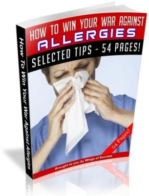 Pay for Win Your War Against Allergies Free PLR Ebook download