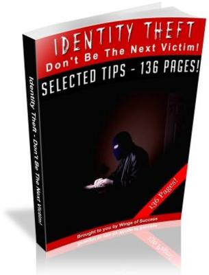 Pay for Identity Theft Do not Be a Next Victim Free PLR Ebook