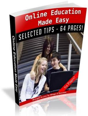 Pay for Online Education Made Easy Free PLR Ebook download
