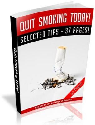 Pay for Quite Smoking Today Free PLR ebooks download