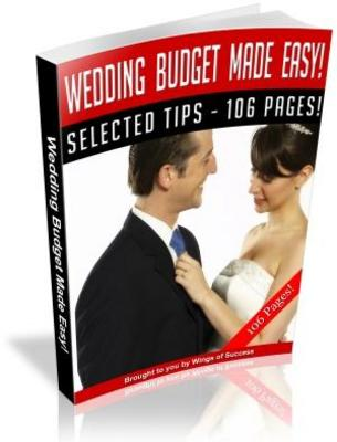 Pay for Wedding Etiquette Made Easy Free PLR ebook download