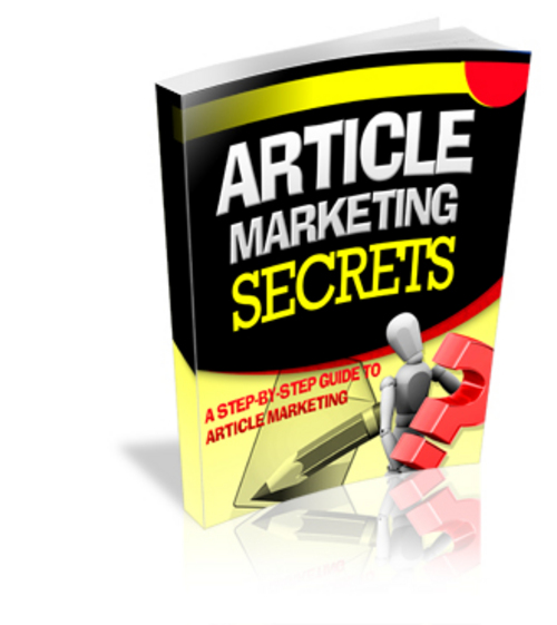 Pay for Article Marketing Secrets