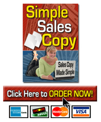 Pay for  *NEW!* Simple Sales Copy With Resale Rights