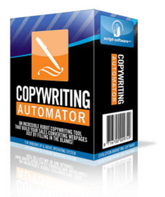Pay for *NEW!* Copywriting Automator Software with Resell Rights
