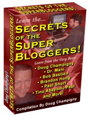 Pay for Secrets of the Super Bloggers! - WITH MASTER RESALE RIGHTS