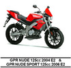 Thumbnail Derbi GPR 125 NUDE 2004 & NUDE SPORT 2006 Parts Catalogue
