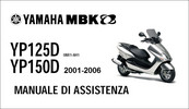 Thumbnail Yamaha Majesty Mbk Skyliner 125 150 Manuale Officina 01-06