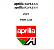 Thumbnail APRILIA SXV 450 550 & RXV 450 500 Parts Catalogue 2008
