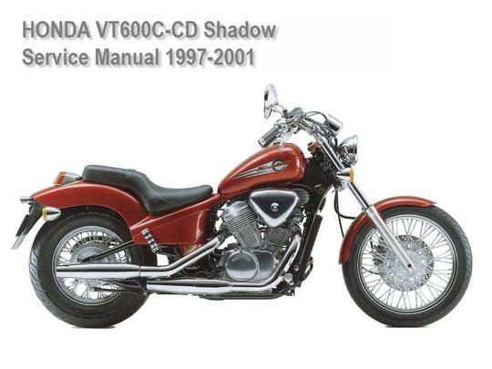 honda shadow repair manual