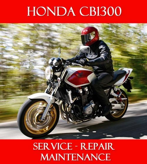 Pay for HONDA CB1300 Service Repair Manual & Parts Catalogue