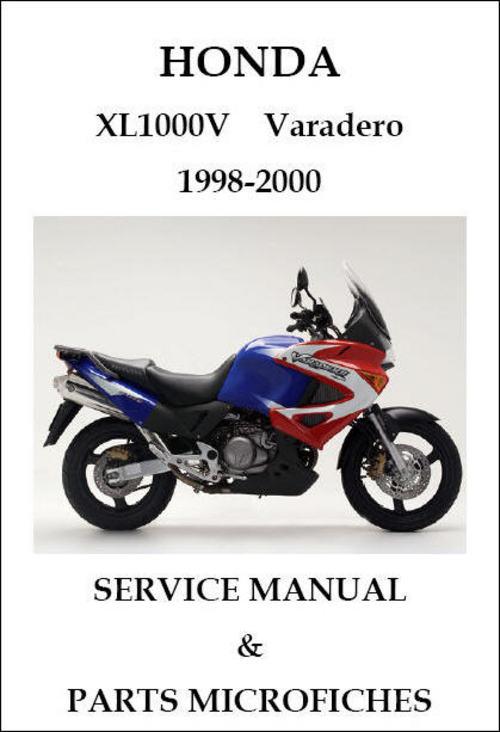 honda xl 1000 v varadero 1998 2000 service repair manual. Black Bedroom Furniture Sets. Home Design Ideas