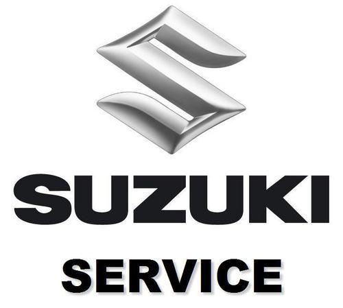 Service Manual For Suzuki