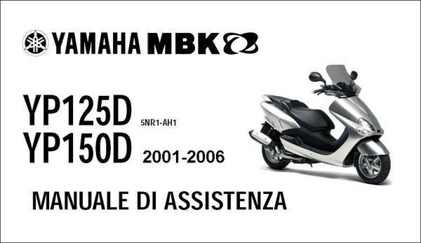 Pay for Yamaha Majesty Mbk Skyliner 125 150 Manuale Officina 01-06