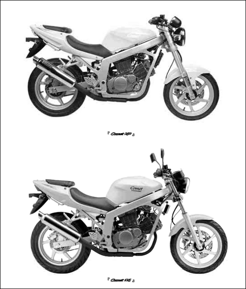 hyosung comet gt 125 250 service manual download download manuals rh tradebit com manual hyosung comet gt 125 español manual de taller hyosung comet gt 125