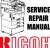 Thumbnail RICOH Copier B&W Digital Aficio 350e, Aficio 450e Manuals