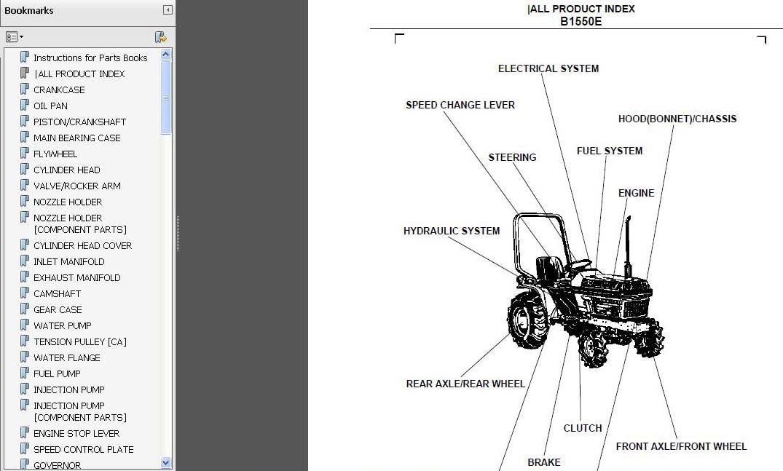 Kubota B1550 Service Manual Download Free Software
