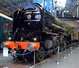 Thumbnail Steam Locomotive Tornado and train passes