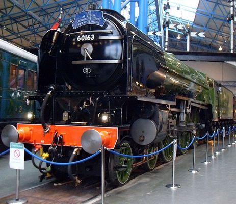 Pay for Steam Locomotive Tornado and train passes