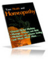 Thumbnail Homeopathy & Natural Healing Brandable eBook Resale Rights