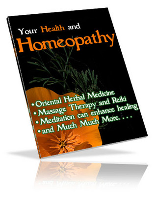 Pay for Homeopathy & Natural Healing Brandable eBook Resale Rights