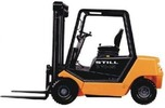 Thumbnail Still Diesel Fork Truck R70-20, R70-25, R70-30: DFG R7062, R7063, R7064 Parts Manual