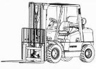 Thumbnail Hyster Truck K005 Series: H3.50XMS (H70XM), H3.75XMS (H80XM), H4.00XMS (H90XM), H4.50XM (H100XM), H5.00XM (H110XM), H5.50XM (H120XM)  Service Manual