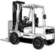 Thumbnail Hyster Forklift Truck D177 Series: H2.00XM (H45XM), H2.50XM, H2.50XMX (H50XM), H55XM, H3.00XM, H3.00XMX (H60XM), H3.20XML (H65XM) Spare Parts List