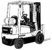 Thumbnail Hyster IC Engined Forklift Truck D010 Series: S25XM, S30XM, S35XM, S40XMS Spare Parts List