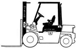 Thumbnail Hyster Diesel/LPG Forklift Truck A177 Series: H2.00XL (H40XL), H2.50XL (H50XL), H3.00 (H60XL) Spare Parts List
