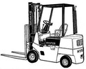 Thumbnail Hyster Diesel/LPG Forklift Truck C001 Series: H1.25XL (H25XL), H1.50XL (H30XL), H1.75XL (H35XL) Spare Parts List