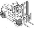 Thumbnail Hyster Forklift Truck D007 Series: H165XL, H8.00XL (H190XL), H9.00XL (H210XL), H10.00XL (H230XL), H250XL, H12.00XL (H280XL) Spare Parts List