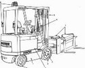 Thumbnail Hyster Electric Reach Truck  N30XMH with SN before C210V-1615 Spare Parts List