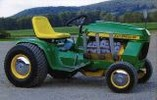 Thumbnail John Deere Lawn and Garden Tractor Type 200, 208, 210, 212, 214, 216 Workshop Service Manual