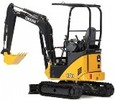 Thumbnail Deer 17D Compact Excavator Diagnostic, Operation and Test Manual (TM10258)