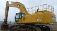 Thumbnail John Deere 600CLC and 800C Excavators Service Repair Technical Manual (TM1923)