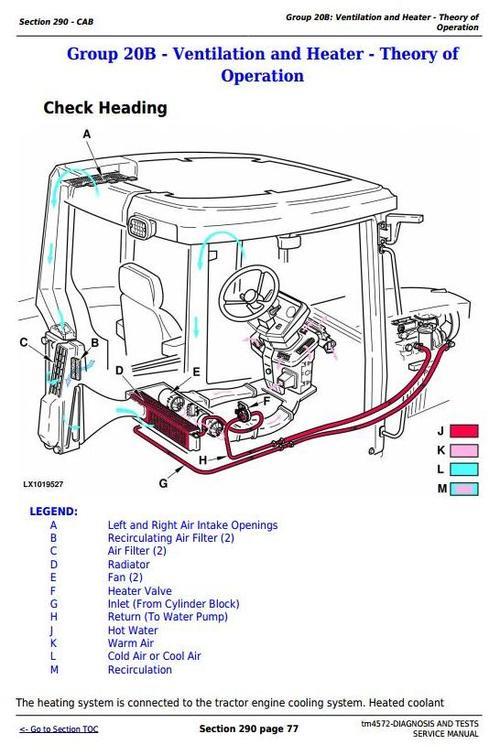john deere 6110 6210 6310 6410 6510 l s tractors diagnosi rh tradebit com John Deere 3020 Electrical Diagram John Deere Ignition Switch Diagram