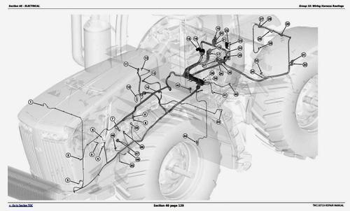 Pay for John Deere 9360R, 9410R, 9460R, 9510R, 9560R Articulated Tractors Service Repair Manual (TM110719)