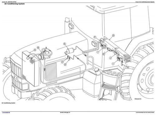 john deere 7210 7410 7510 tractors diagnosis and tests service ma rh tradebit com John Deere Electrical Schematics John Deere Parts Diagrams