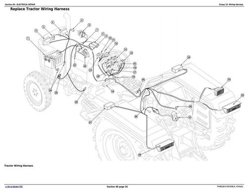 Pay for Deer 5055E, 5065E, 5075E Asia, Africa, Middle East Edition Tractors Technical Manual (TM901819)