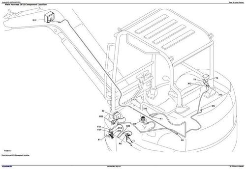 Deer 50czts Compact Excavator Diagnostic Operation And Test Servic