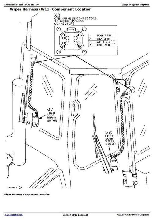 john deere 750c 850c crawler dozer diagnostic operation and test rh tradebit com John Deere Dozer Cutting Blades John Deere 850C Dozer